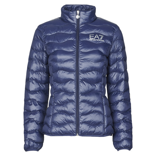 Textiel Dames Dons gevoerde jassen Emporio Armani EA7 TRAIN CORE LADY W LT ECO DOWN JCKT Marine
