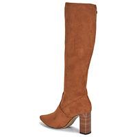 Schoenen Dames Hoge laarzen Caprice 25501-364 Cognac
