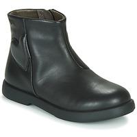 Schoenen Meisjes Laarzen Camper DTT1 Zwart