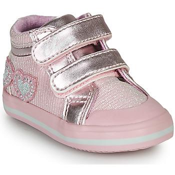 Schoenen Meisjes Hoge sneakers Chicco GEORGIAN Roze