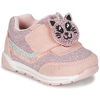 Schoenen Meisjes Lage sneakers Chicco GAMMA Roze