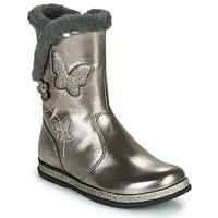 Schoenen Meisjes Hoge laarzen Chicco CAMPANELLA Zilver