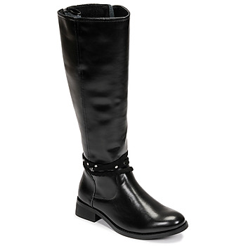 Schoenen Dames Hoge laarzen Chattawak ALABAMA Zwart