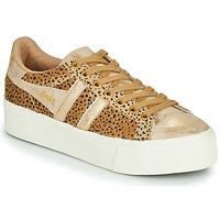 Schoenen Dames Lage sneakers Gola ORCHID PLATEFORM SAVANNA Goud / Cheetah