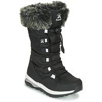 Schoenen Meisjes Snowboots KAMIK PRAIRIE Zwart
