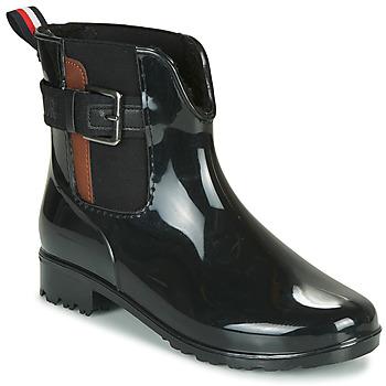 Schoenen Dames Regenlaarzen Tom Tailor 92306-NOIR Zwart