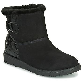 Schoenen Dames Laarzen Tom Tailor 93105-NOIR Zwart