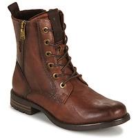 Schoenen Dames Laarzen Tom Tailor 93303-COGNAC Cognac