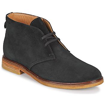 Schoenen Heren Laarzen Clarks CLARKDALE DBT Zwart