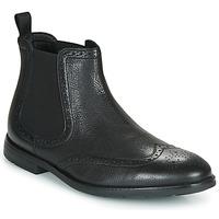 Schoenen Heren Laarzen Clarks RONNIE TOP Zwart