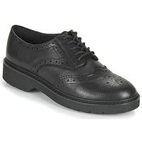 Schoenen Dames Derby Clarks WITCOMBE ECHO Zwart