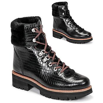 Schoenen Dames Laarzen Clarks ORIANNA HIKER Zwart