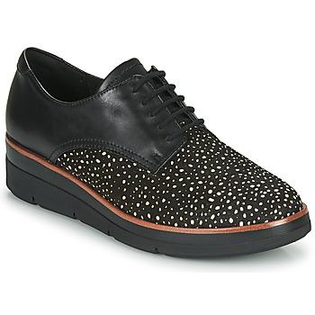 Schoenen Dames Derby Clarks SHAYLIN LACE Zwart