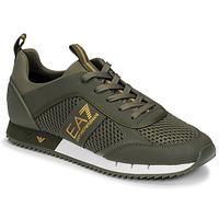 Schoenen Heren Lage sneakers Emporio Armani EA7  Kaki