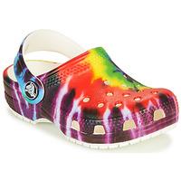 Schoenen Kinderen Klompen Crocs CLASSIC TIE DYE GRAPHIC CLOG K Multicolour