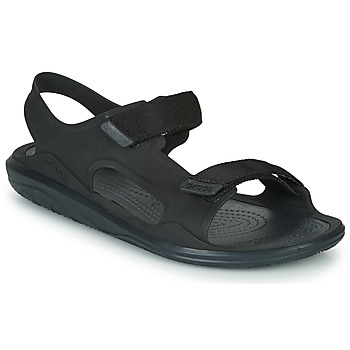 Schoenen Heren Sandalen / Open schoenen Crocs SWIFTWATER EXPEDITION SANDAL M Zwart