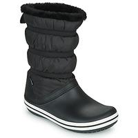 Schoenen Dames Snowboots Crocs CROCBAND BOOT W Zwart