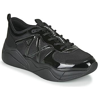 Schoenen Dames Lage sneakers Armani Exchange XV311-XDX039 Zwart