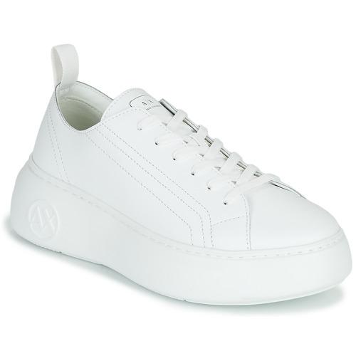 Schoenen Dames Lage sneakers Armani Exchange PROMNA Wit