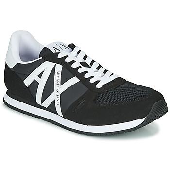 Schoenen Heren Lage sneakers Armani Exchange XCC68-XUX017 Zwart