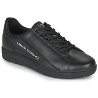 Schoenen Heren Lage sneakers Armani Exchange XV262-XUX082 Zwart