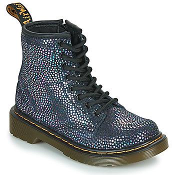 Schoenen Meisjes Laarzen Dr Martens 1460 J Zwart / Metaal