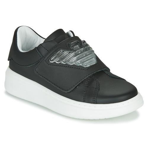 Schoenen Kinderen Lage sneakers Emporio Armani XYX014-XOI08 Zwart