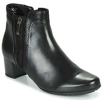 Schoenen Dames Enkellaarzen Gabor 5282857 Zwart