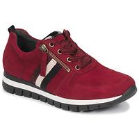 Schoenen Dames Lage sneakers Gabor 5643538 Rood
