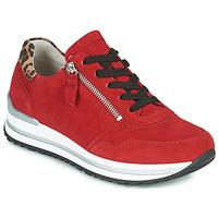 Schoenen Dames Lage sneakers Gabor 5652838 Rood