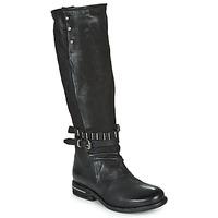 Schoenen Dames Hoge laarzen Airstep / A.S.98 TEAL HIGH Zwart