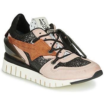 Schoenen Dames Lage sneakers Airstep / A.S.98 DENASTAR Roze