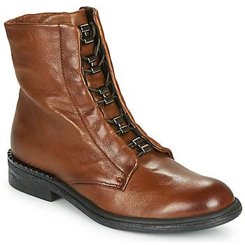 Schoenen Dames Laarzen Mjus PALLY Bruin