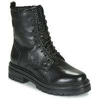 Schoenen Dames Laarzen Mjus DOBLE LACE Zwart
