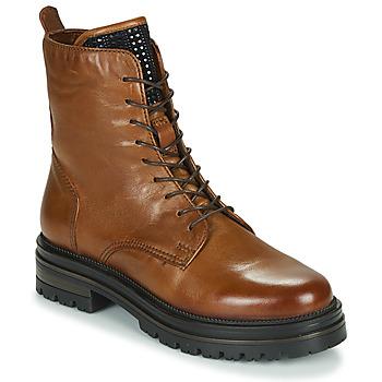 Schoenen Dames Laarzen Mjus DOBLE LACE Bruin