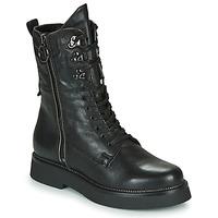 Schoenen Dames Laarzen Mjus TRIPLE ZIP Zwart