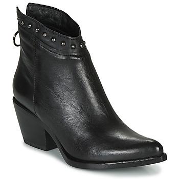 Schoenen Dames Enkellaarzen Mjus TEP Zwart