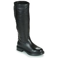 Schoenen Dames Hoge laarzen Mjus MORGANA HIGH Zwart