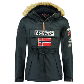 Textiel Jongens Parka jassen Geographical Norway BARMAN BOY Marine