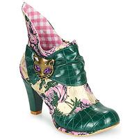 Schoenen Dames Enkellaarzen Irregular Choice MIAOW Groen