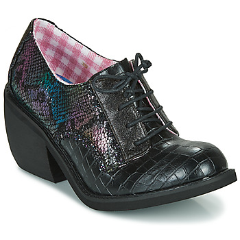 Schoenen Dames Derby Irregular Choice TIPPLE Zwart