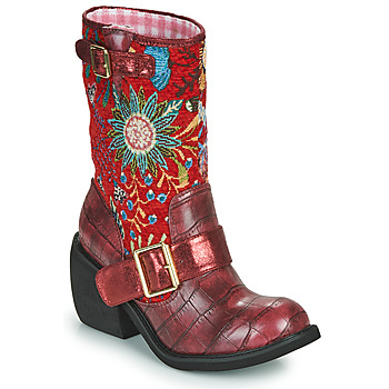 Schoenen Dames Laarzen Irregular Choice GREAT ESCAPE Rood