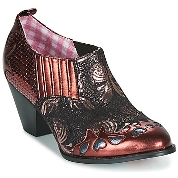 Schoenen Dames Low boots Irregular Choice BARBAROSA Brons / Rood