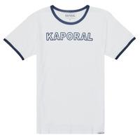 Textiel Jongens T-shirts korte mouwen Kaporal ONYX Wit