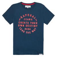 Textiel Jongens T-shirts korte mouwen Kaporal ORVAL Marine