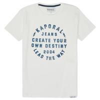 Textiel Jongens T-shirts korte mouwen Kaporal ORVAL Wit