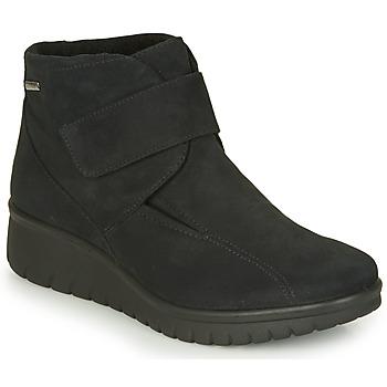 Schoenen Dames Laarzen Romika Westland CALAIS 53 Zwart