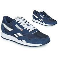 Schoenen Lage sneakers Reebok Classic CL NYLON Marine / Wit