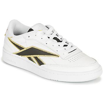 Schoenen Lage sneakers Reebok Classic CLUB C 85 Wit / Zwart