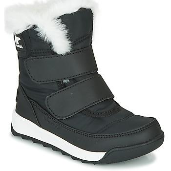 Schoenen Kinderen Laarzen Sorel CHILDRENS WHITNEY™ II STRAP Zwart